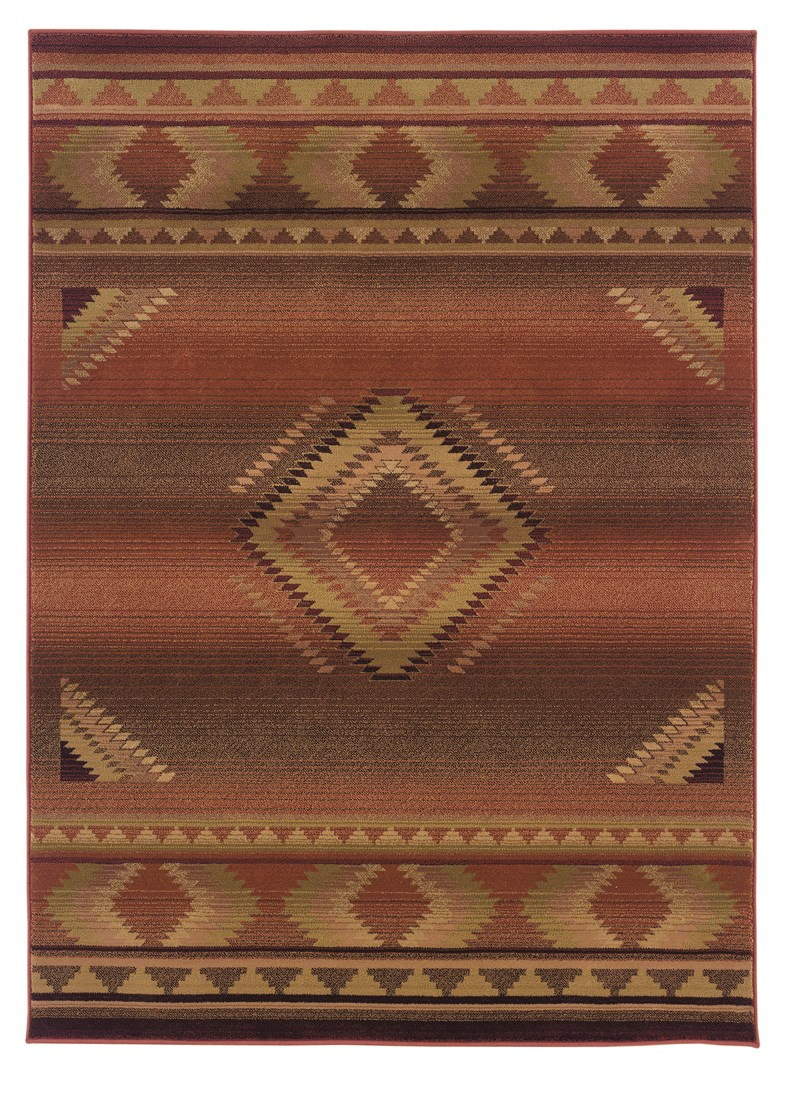Oriental Weavers Generations 1506c Red Rug