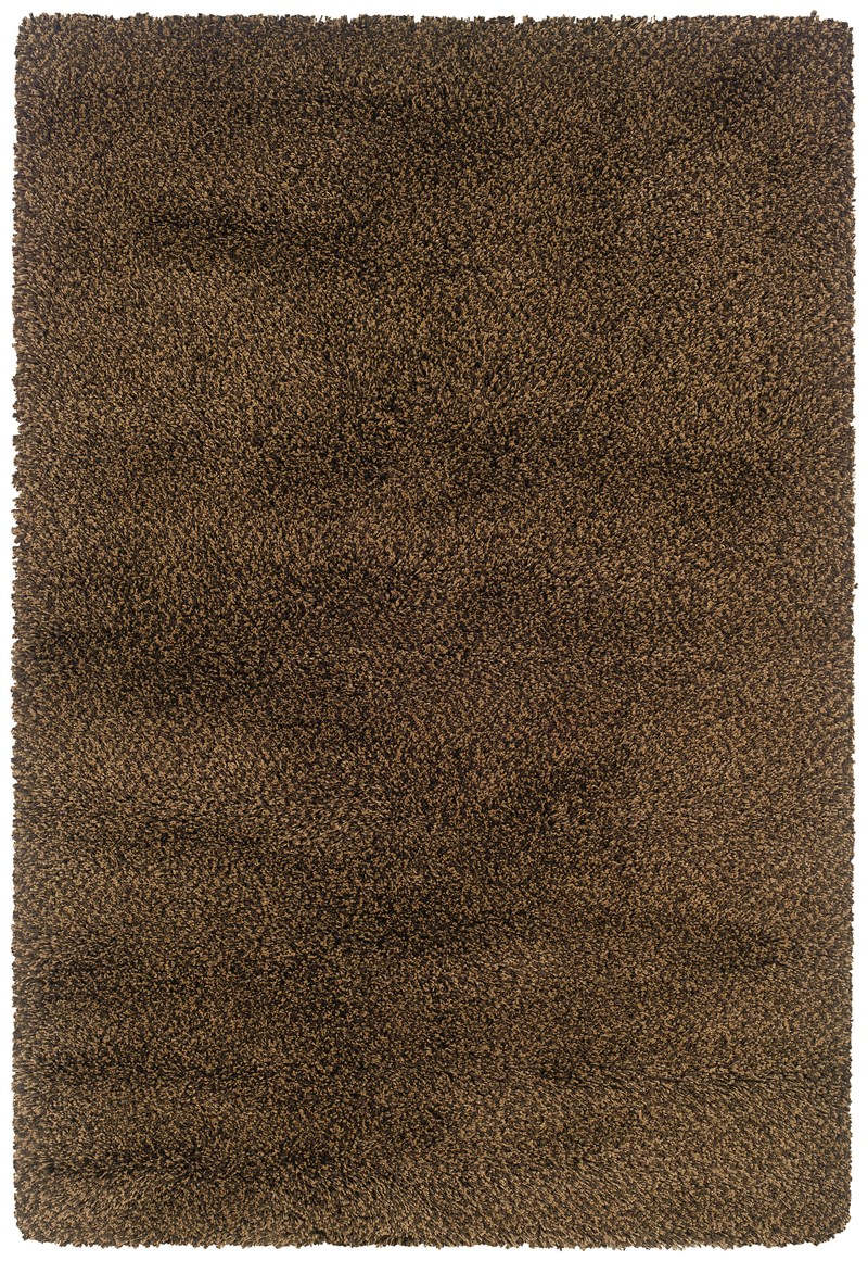Oriental Weavers Loft Collection 520d4 Brown Rug