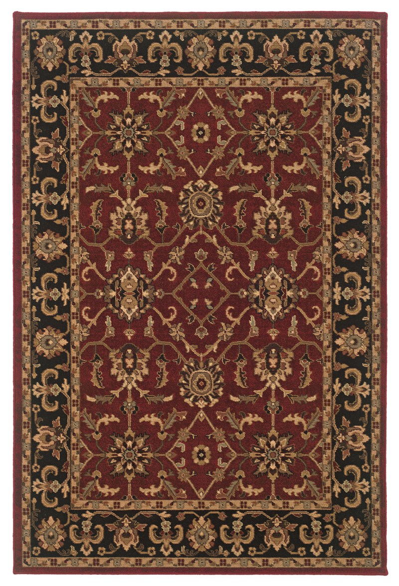 Oriental Weavers Knightsbridge 282r5 Red Rug