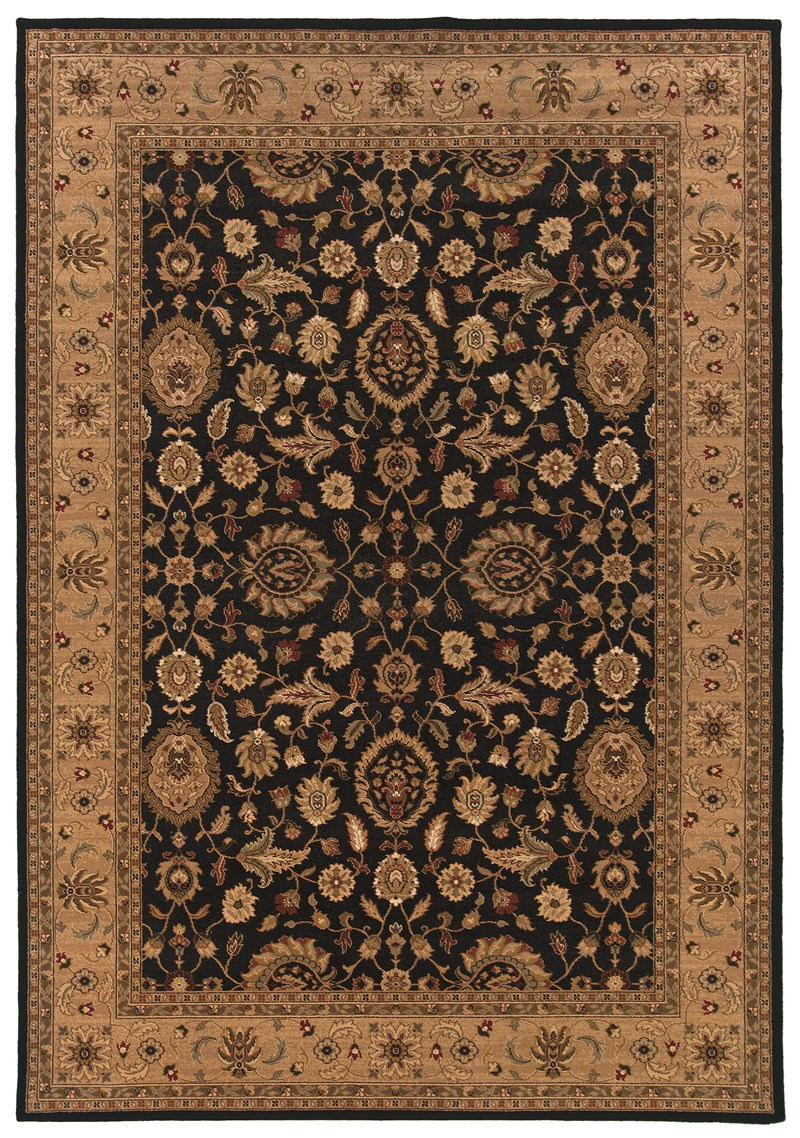 Oriental Weavers Knightsbridge 524k5 Black Rug