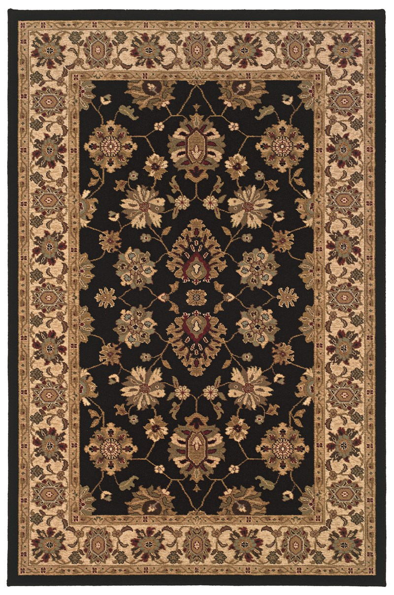 Oriental Weavers Knightsbridge 122k5 Black Rug