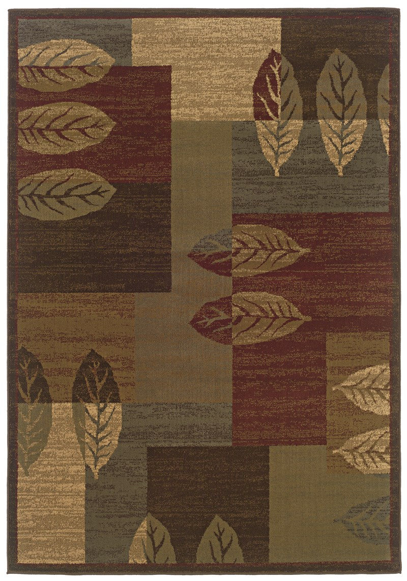 Oriental Weavers Tybee 2360R Brown RUG