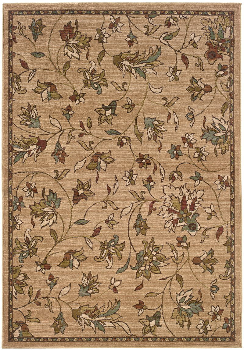 Oriental Weavers Emerson 1994a Gold Rug