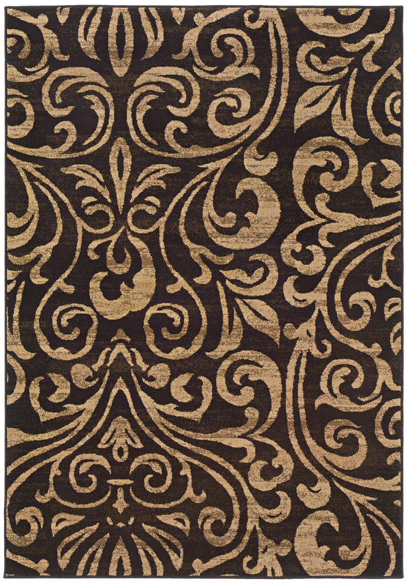 Oriental Weavers Emerson 2033c Black Rug