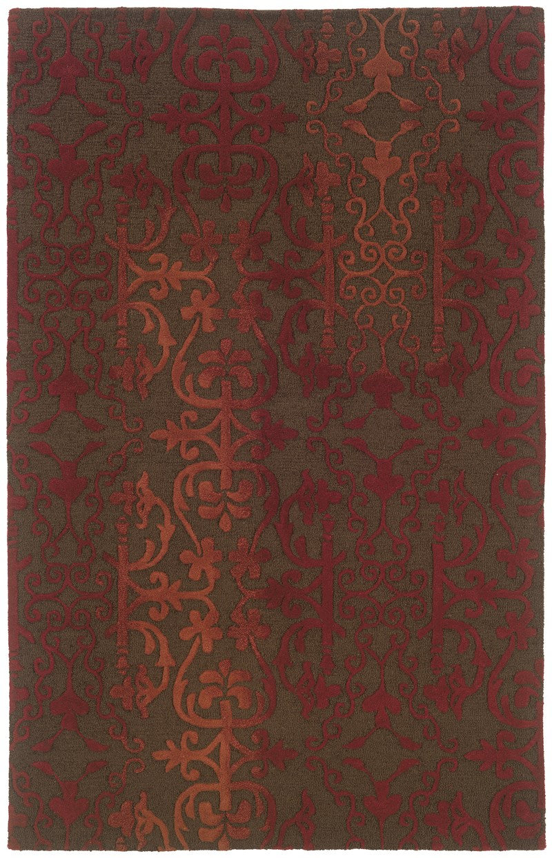 Oriental Weavers Ventura 18101 Brown Rug