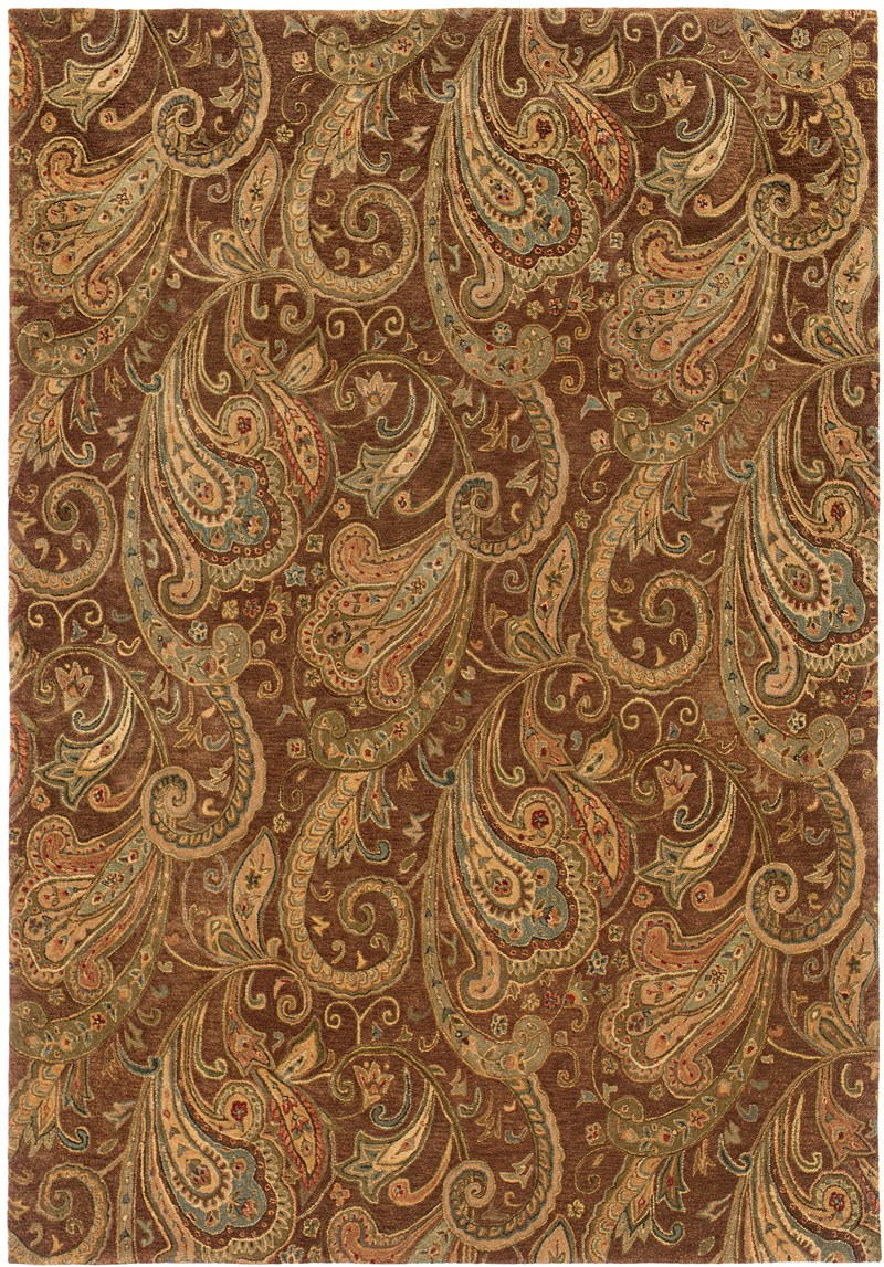 Oriental Weavers Huntley 19102 Brown Rug
