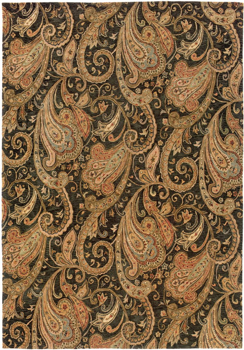 Oriental Weavers Huntley 19104 Black Rug