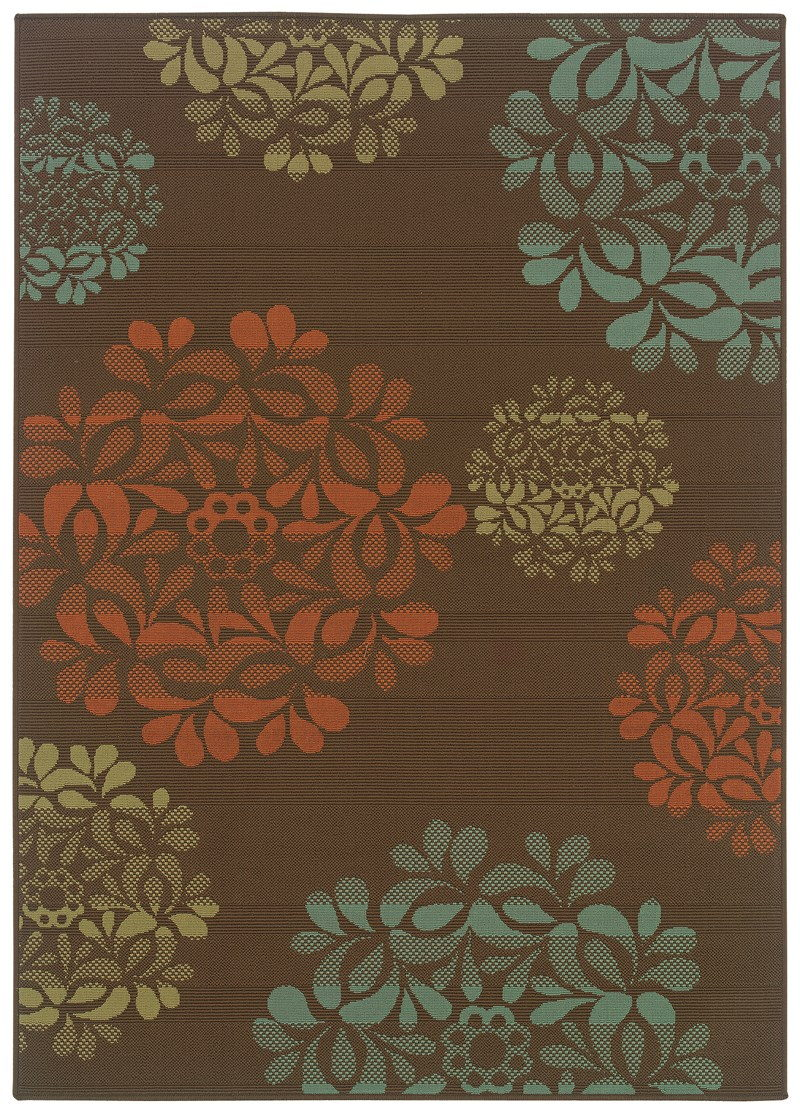 Oriental Weavers Montego 2635n Brown Rug