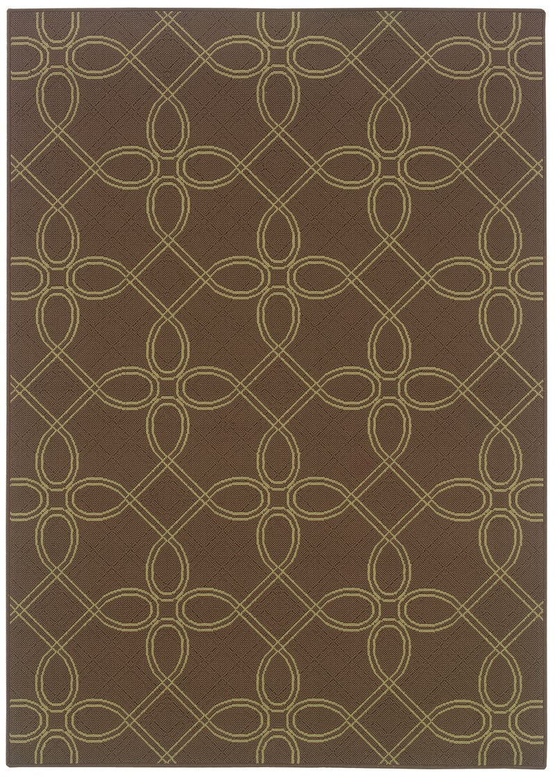Oriental Weavers Montego 6991n Brown Rug