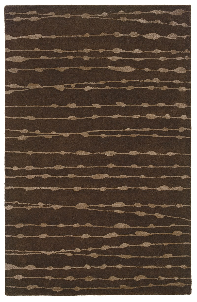 Oriental Weavers Silhouette 48107 Brown Rug