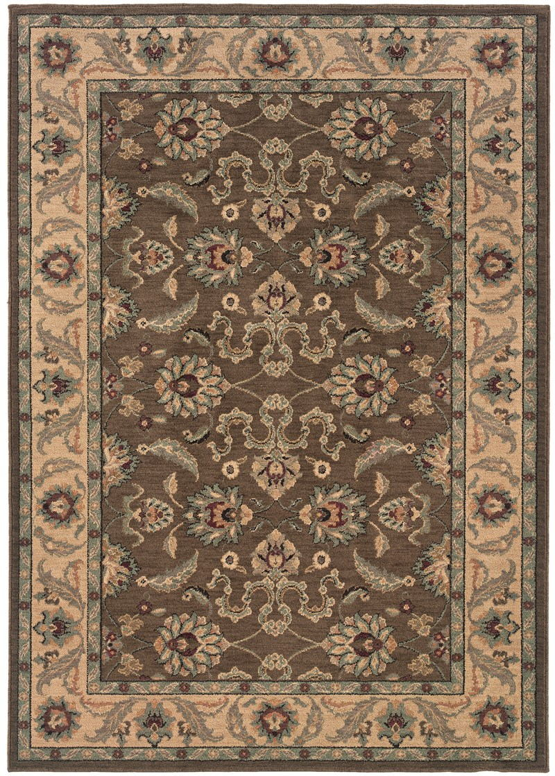 Oriental Weavers Salerno 2859d Brown Rug