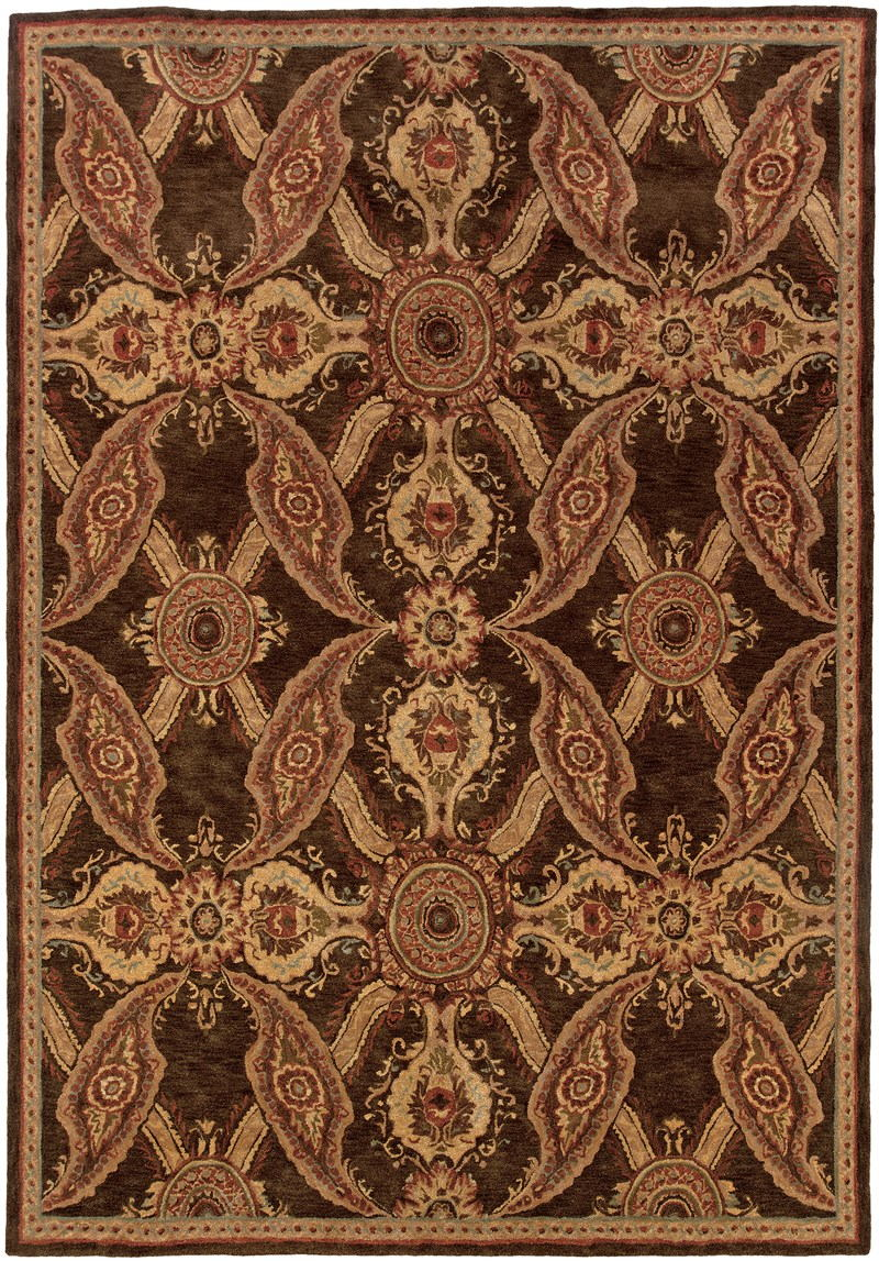Oriental Weavers Huntley 19112 Brown Rug