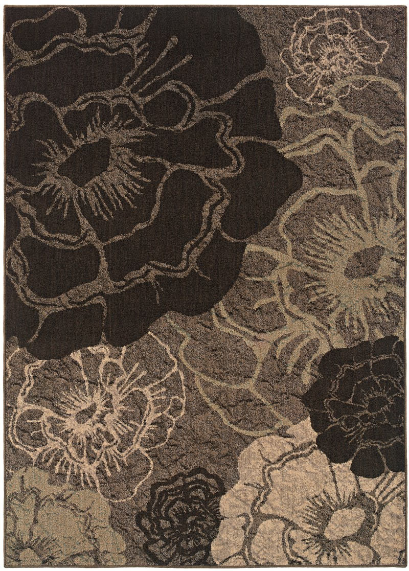 Contemporary Lorient Grey 7'8 Rug