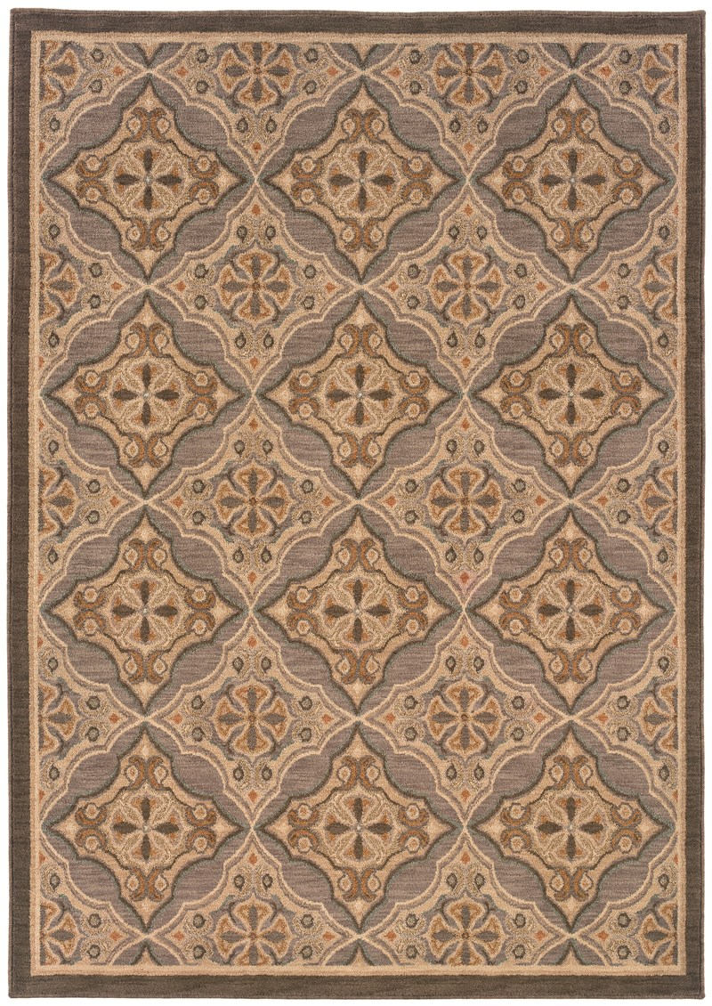 Oriental Weavers Salerno 2853c Grey Rug