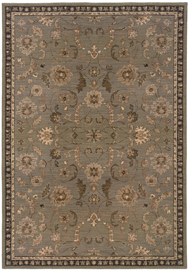Oriental Weavers Salerno 2945d Grey Rug