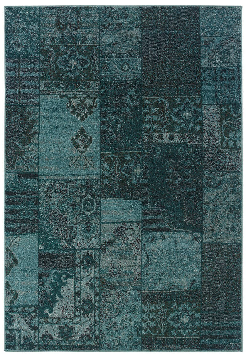 Oriental Weavers Revival 501g2 Teal Rug