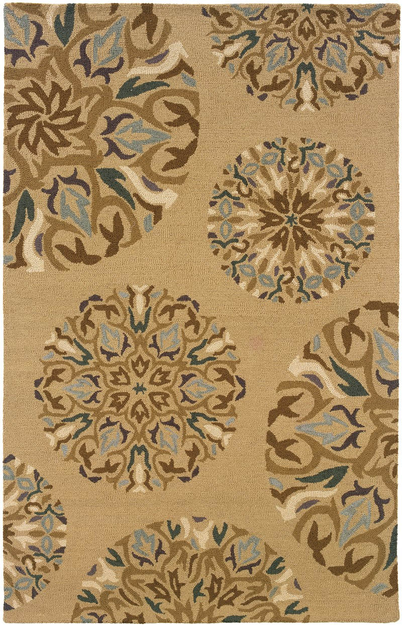Traditional Heaven Tan 8' X 10' Rug