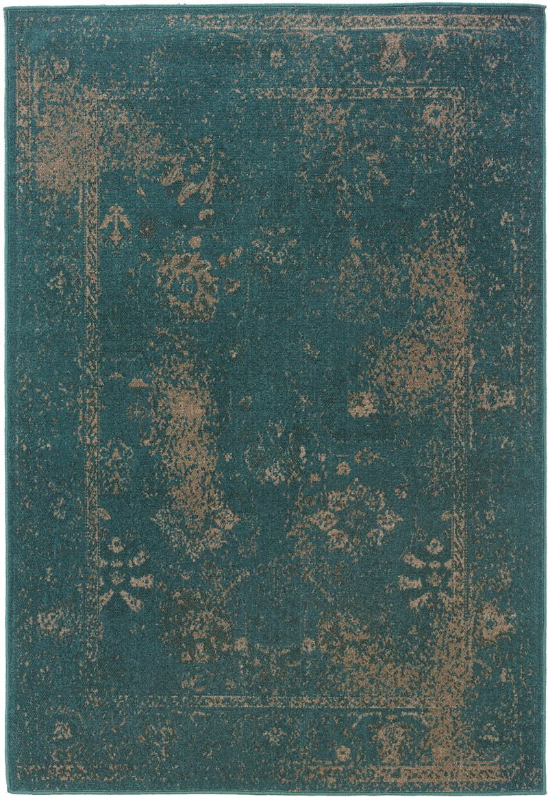 Oriental Weavers Revival 3690d Teal Rug