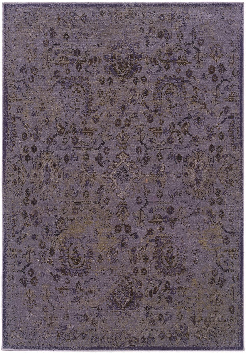 Oriental Weavers Revival 3692e Purple Rug