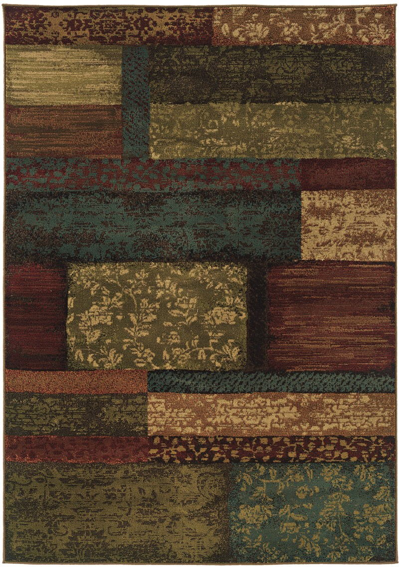 Oriental Weavers Emerson 2480c Brown Rug