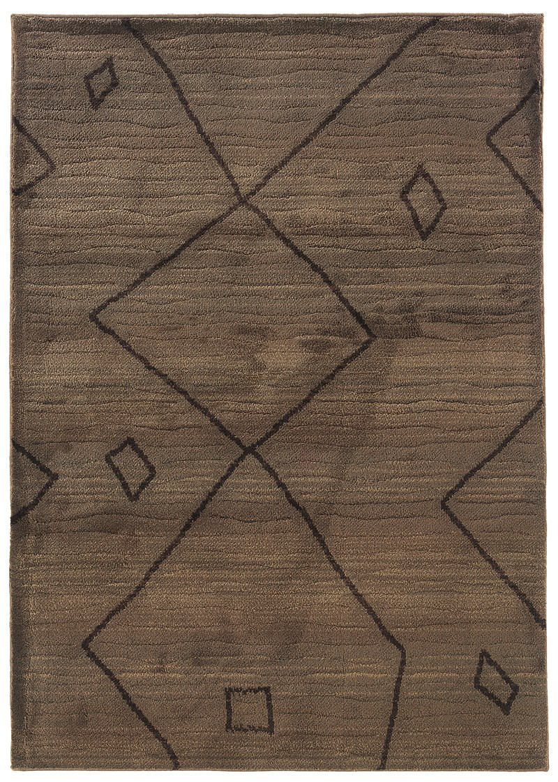 Oriental Weavers Marrakesh 1443x Brown Rug