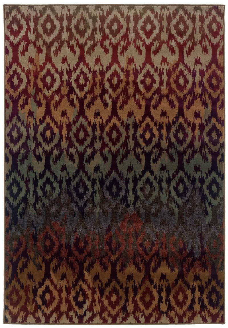Oriental Weavers Adrienne 3809g Red Rug