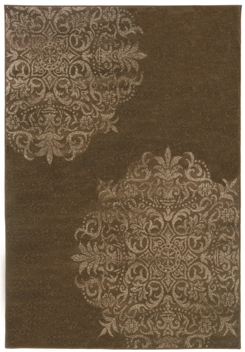 Oriental Weavers Adrienne 4174d Brown Rug