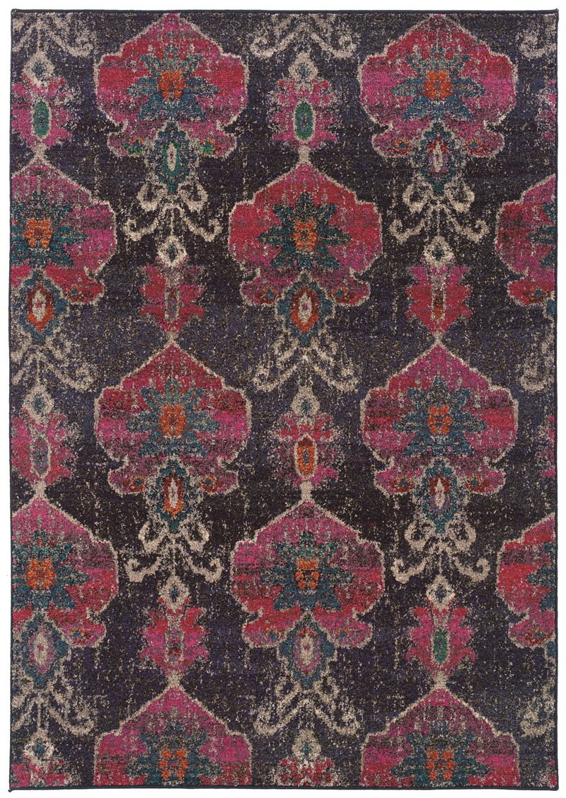 Oriental Weavers Kaleidoscope 1140v Grey Rug