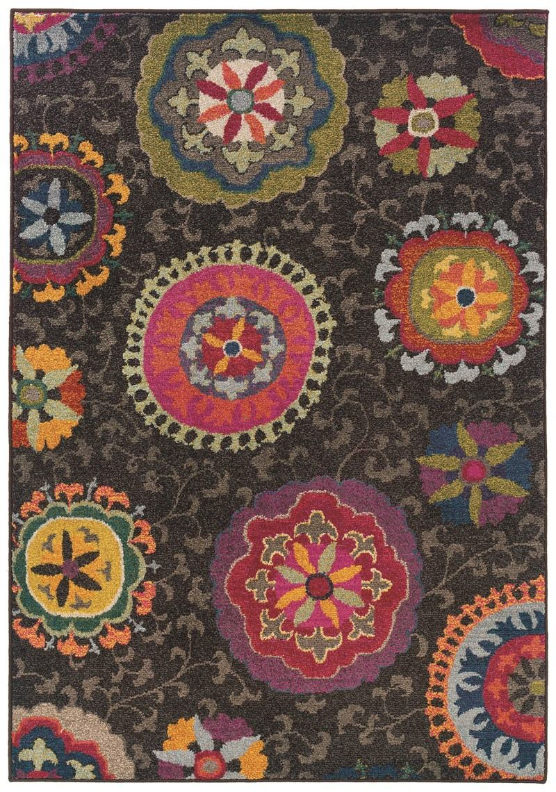 Oriental Weavers Kaleidoscope 1333n Grey Rug