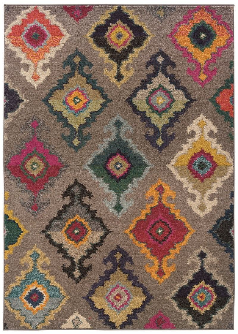 Oriental Weavers Kaleidoscope 5990e Grey Rug