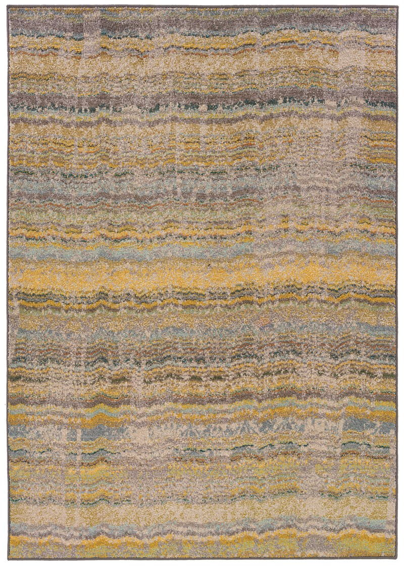 Oriental Weavers Kaleidoscope 5992y Yellow Rug