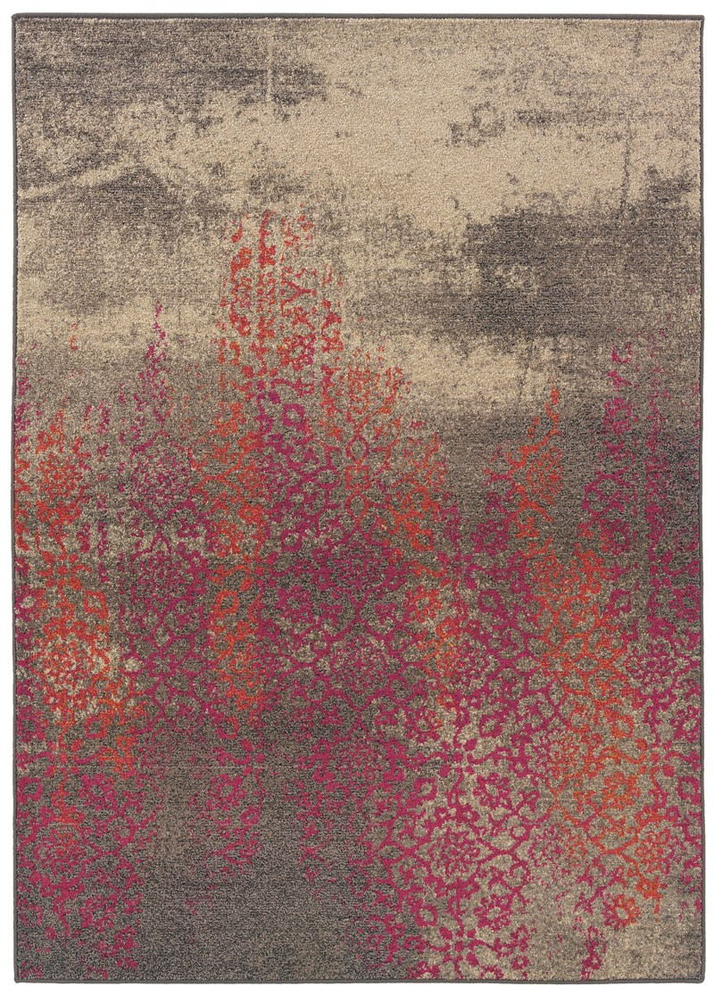 Oriental Weavers Kaleidoscope 504j5 Grey Rug