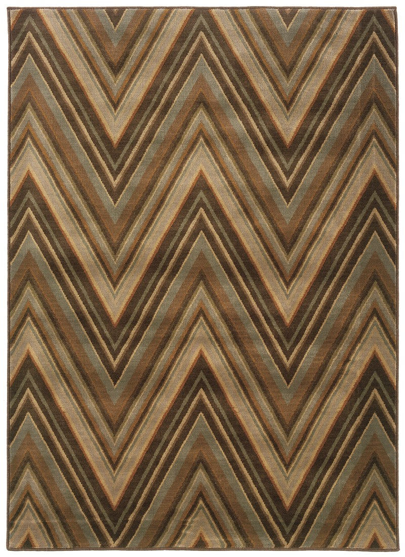 Oriental Weavers Casablanca 4461b Brown Rug