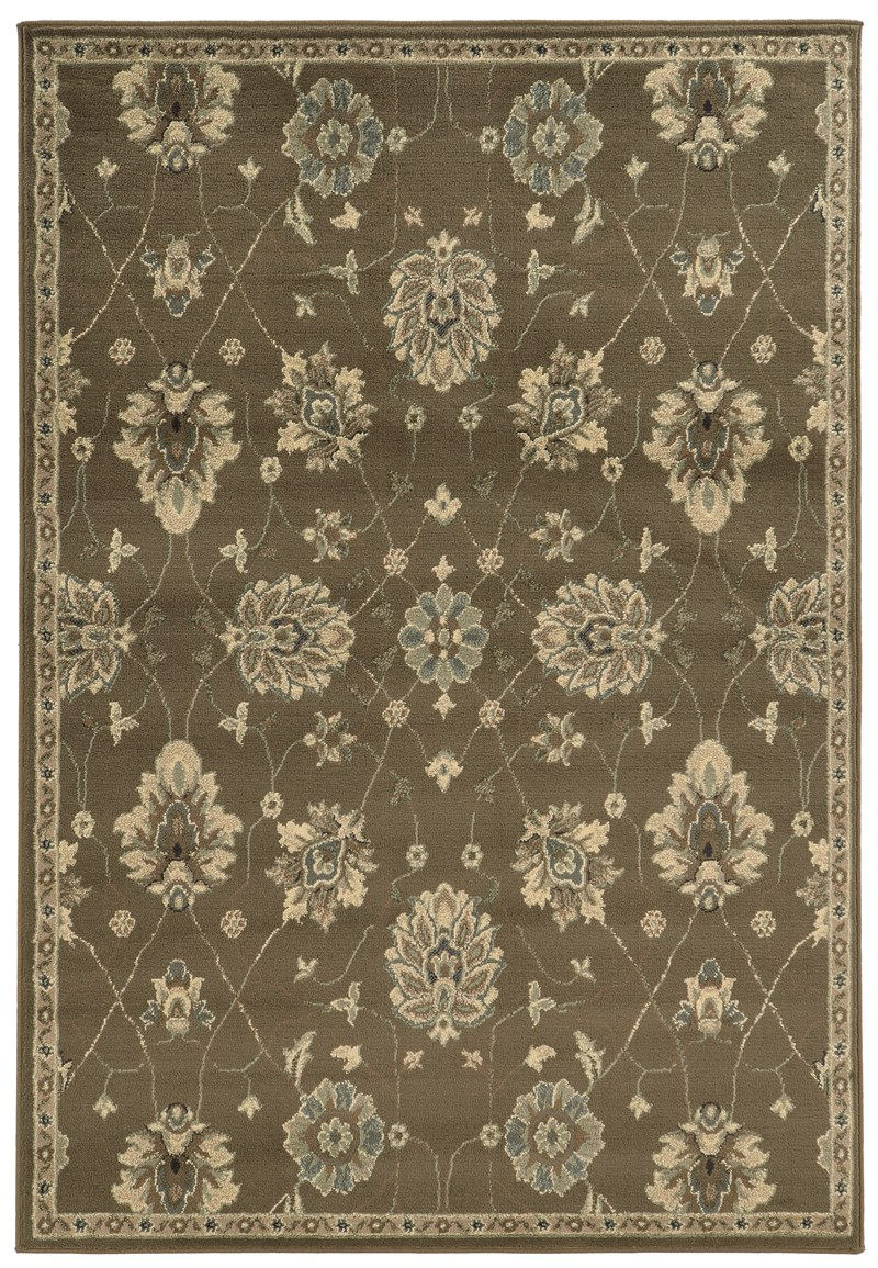 Oriental Weavers Brentwood 1330e Brown Rug