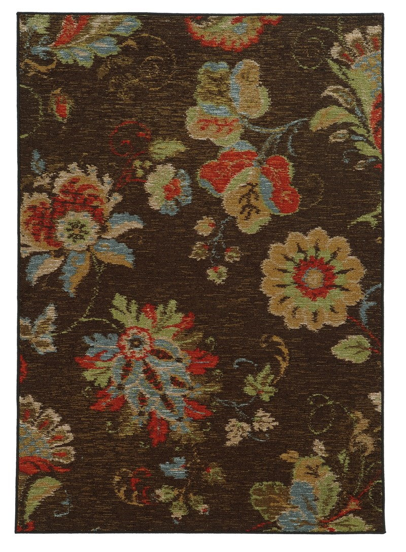 Oriental Weavers Arabella 41908 Brown Rug