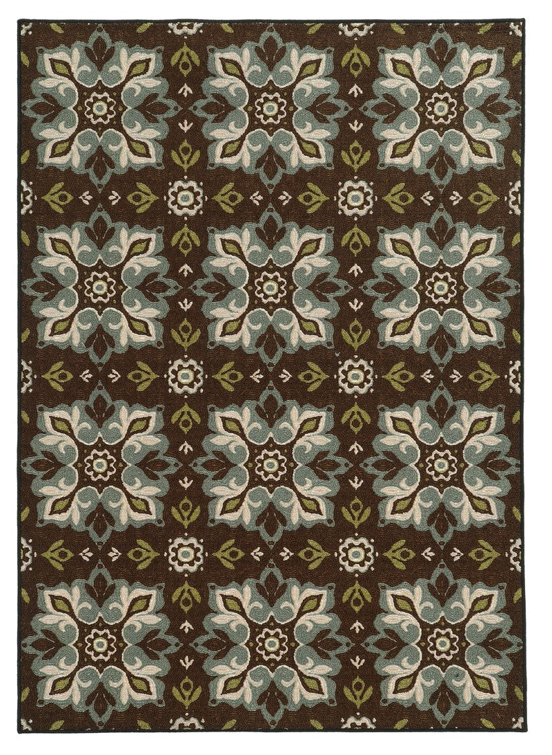 Oriental Weavers Arabella 15837 Brown Rug