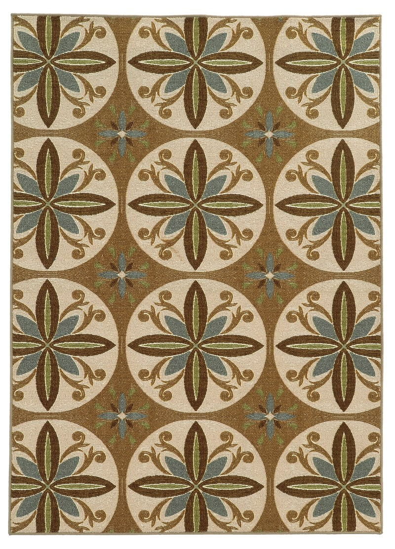 Oriental Weavers Arabella 15863 Tan Rug