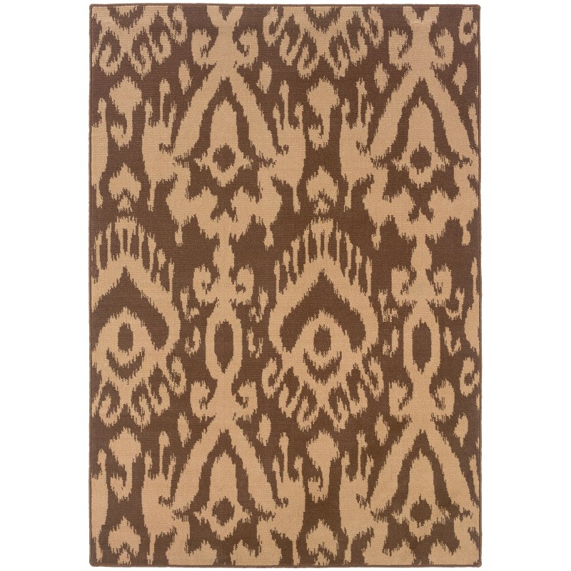 Oriental Weavers Ensley 091d0 Brown Rug