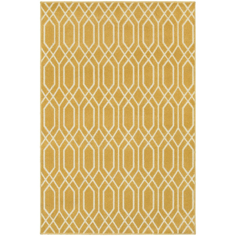 Oriental Weavers Hampton 192y5 Gold Rug