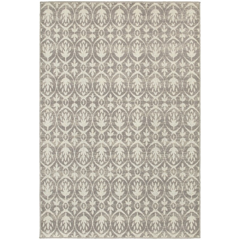 Oriental Weavers Hampton 194e5 Grey Rug