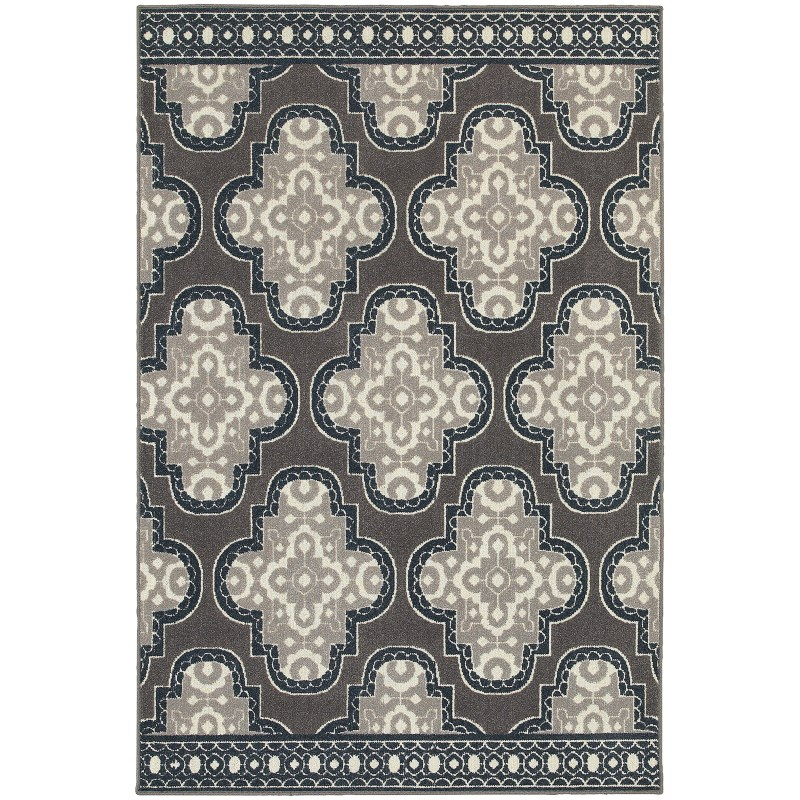 Oriental Weavers Hampton 5641h Grey Rug