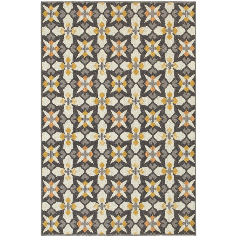 Oriental Weavers Hampton 8021l Grey Rug