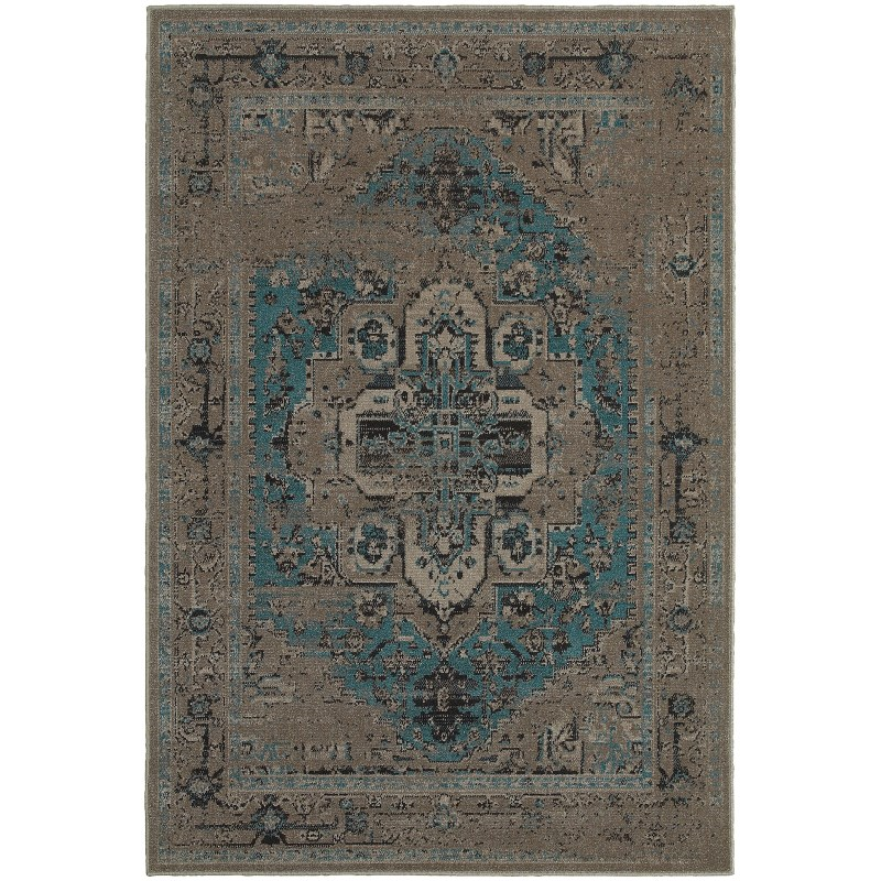 Oriental Weavers Revival 4694e Grey Rug