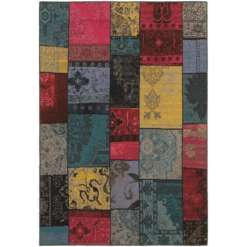 Oriental Weavers Revival Transitional 501m7 Multi