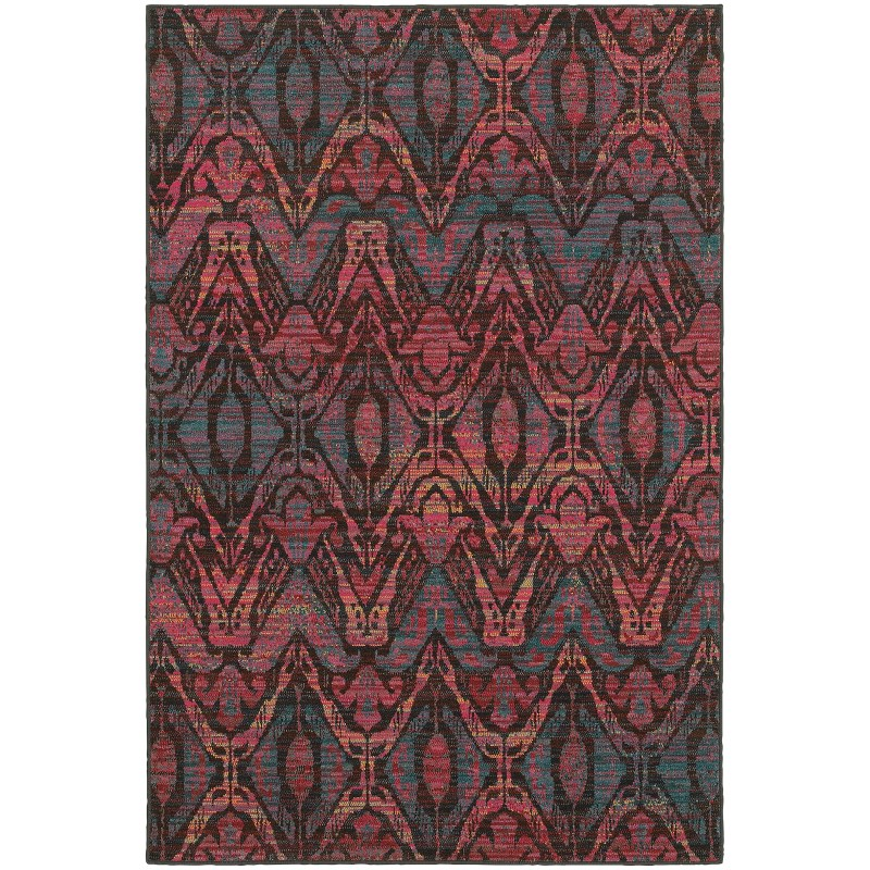 Oriental Weavers Revival 5562f Brown Rug