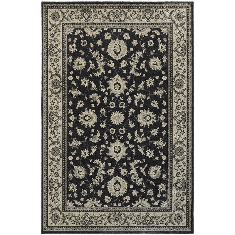 Oriental Weavers Richmond 117h3 Charcoal Rug