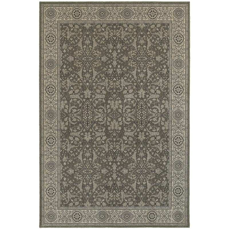 Oriental Weavers Richmond 001e3 Grey Rug