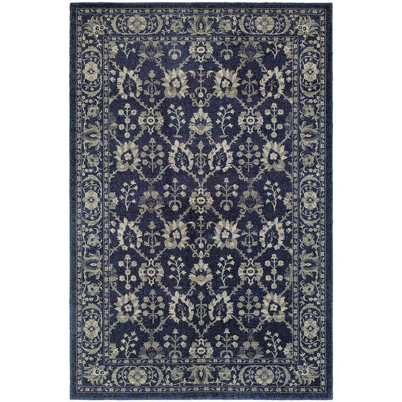 Oriental Weavers Richmond 8020k Navy Rug