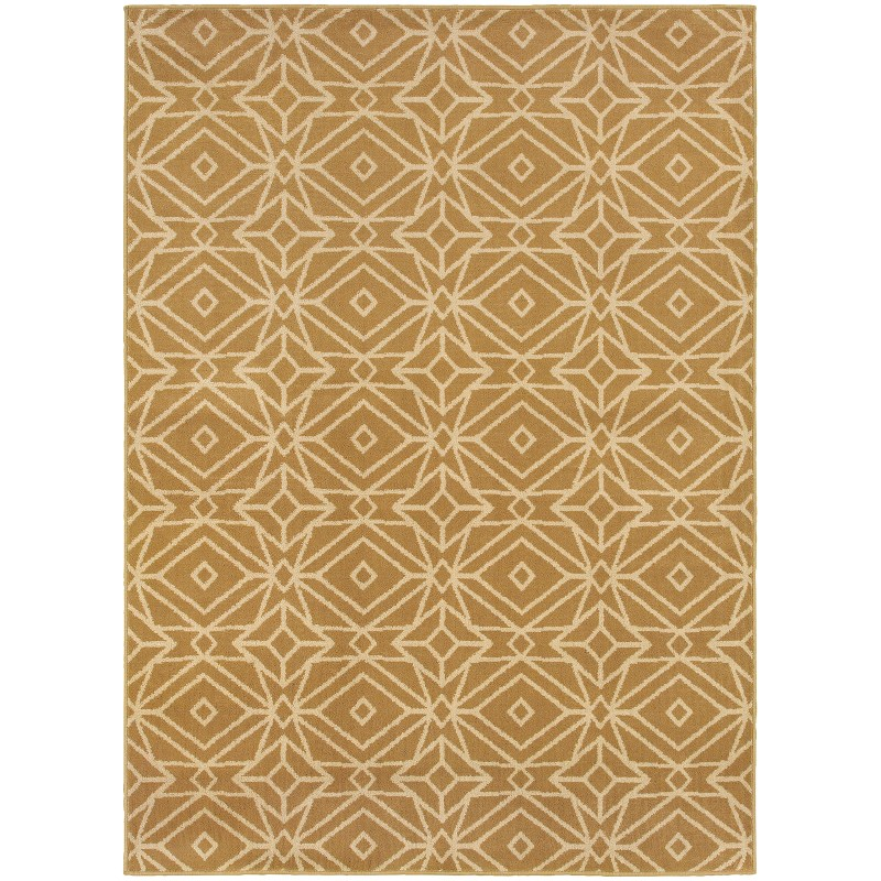 Oriental Weavers Stratton 5882a Gold Rug
