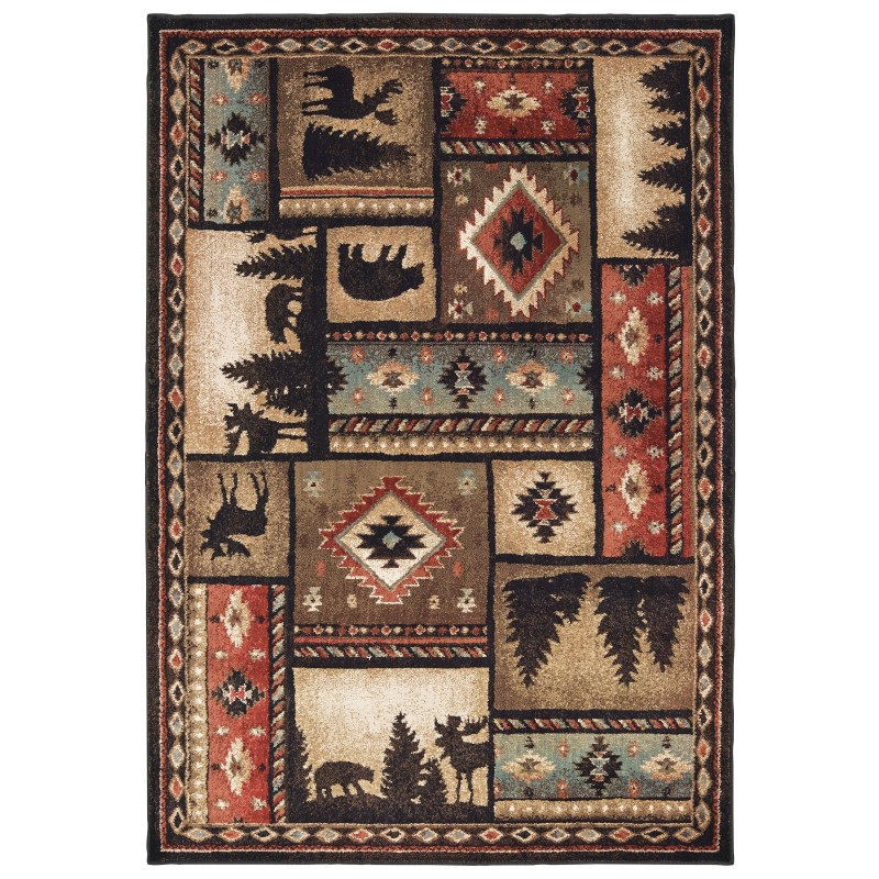 Oriental Weavers Woodlands Casual Rugs 1041c
